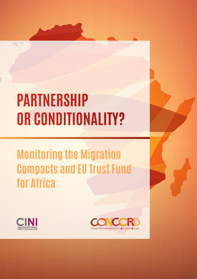 Rapport Partnership or Conditionality? Monitoring the Migration Compacts and EU Trust Fund for Africa