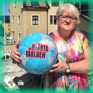 Carina Ohlsson, Socialdemokraterna, hjärtar världen