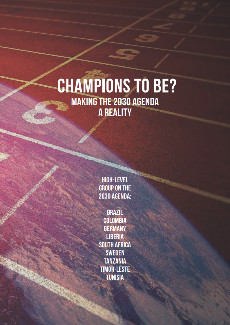 Champions to be? Making the 2030 Agenda a reality (2016)