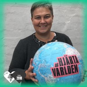Emma Nohrén, Miljöpartiet, hjärtar världen