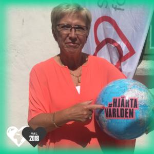 Kerstin Lundgren, Centerpartiet, hjärtar världen