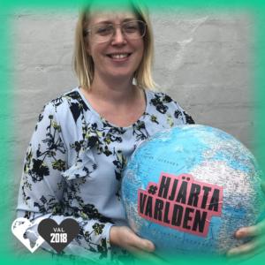Maria Andersson Willner, Socialdemokraterna, hjärtar världen