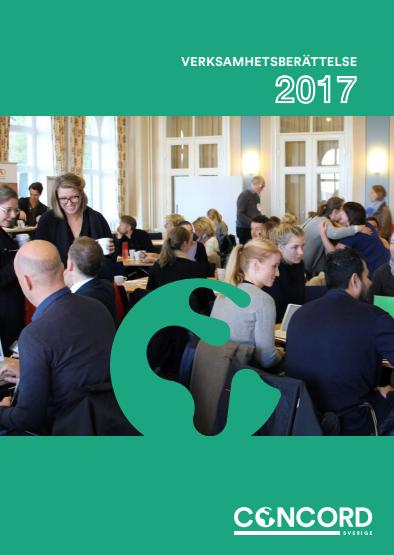 CONCORD Sveriges verksamhetsberättelse 2017