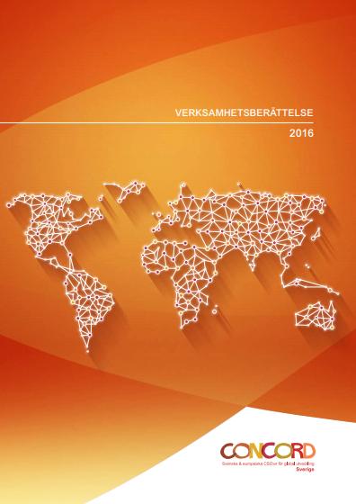 CONCORD Sveriges verksamhetsberättelse 2016