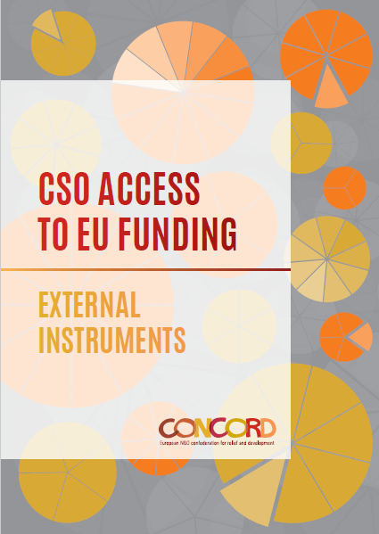 CSO access to EU funding, external instruments, CONCORD Europa