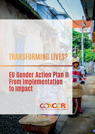 Rapport: Transforming lives? EU Gender Action Plan 2 From Implementation to Impact