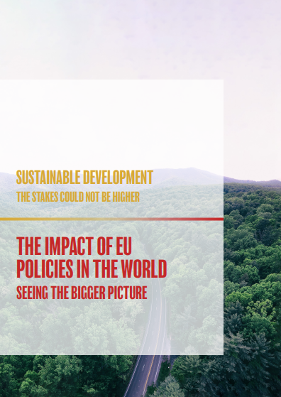 Sustainable development, the stakes could not be higher - the impacts of EU policies in the world, seeing the bigger picture