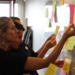 CONCORDs personal sorterar medlemmars diskussionspunkter