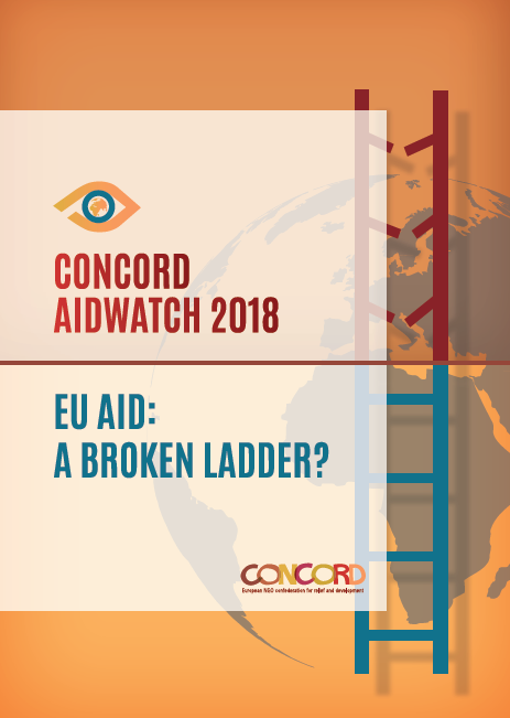 Framsidebild CONCORDs AidWatch-rapport 2018