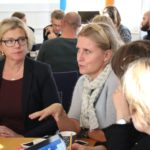 Jenny Fors, WaterAid, och Helena Kilström Esscher, We Effect