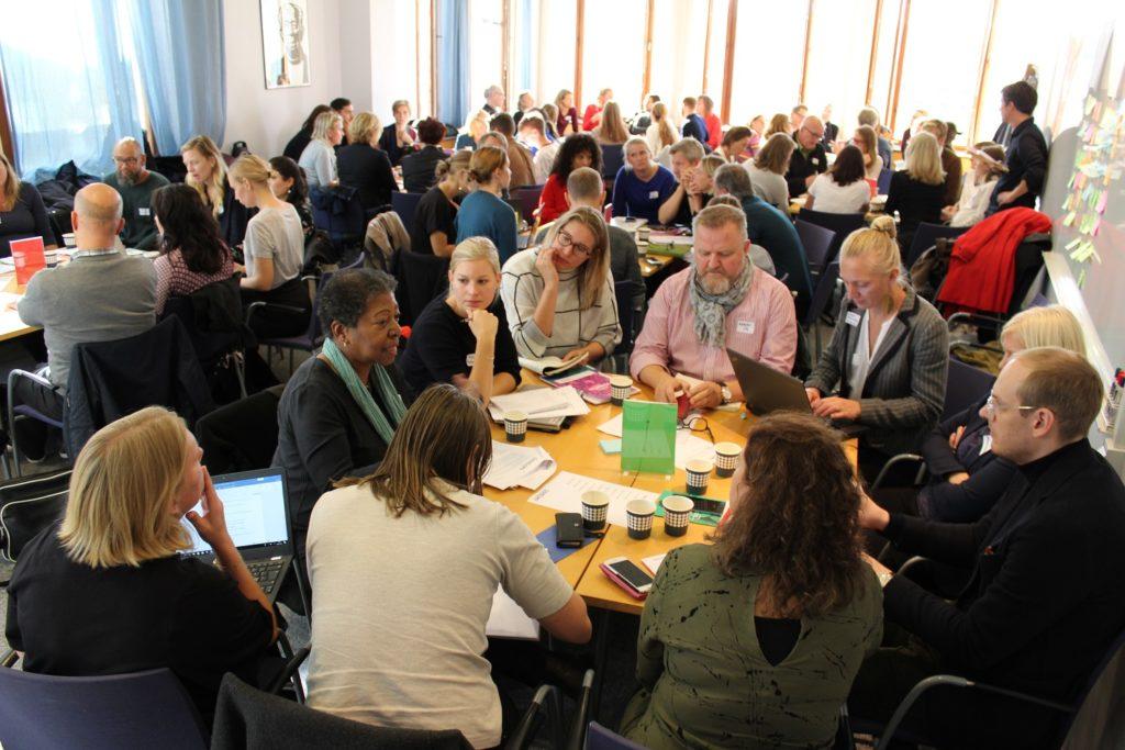 Alla deltagare vid policyforum
