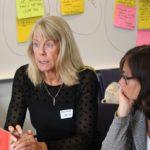 Suzanne Jenner, Caritas Sverige, och Anna-Carin Hall, Kvinna till Kvinna