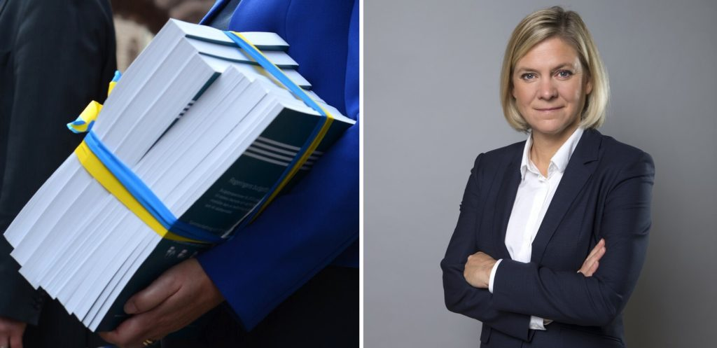 Magdalena Andersson, finansminister (S)