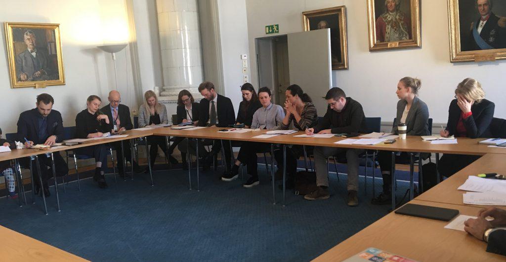 Dialogmöte mellan medlemmar i CONCORD Sverige och utrikesdepartementet