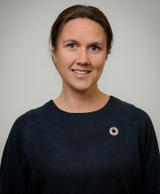 Sofia Svarfvar, policysamordnare Agenda 2030