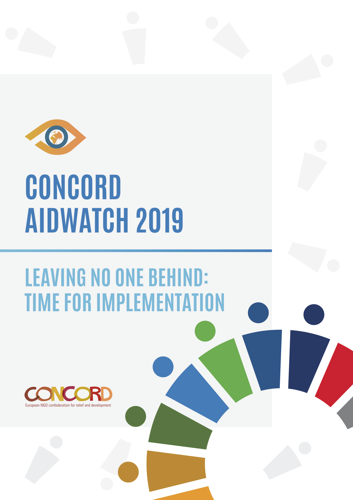 Framsidebild CONCORDs AidWatch-rapport 2019