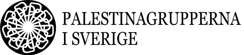 Logotyp för Palestinagrupperna i Sverige (PGS)