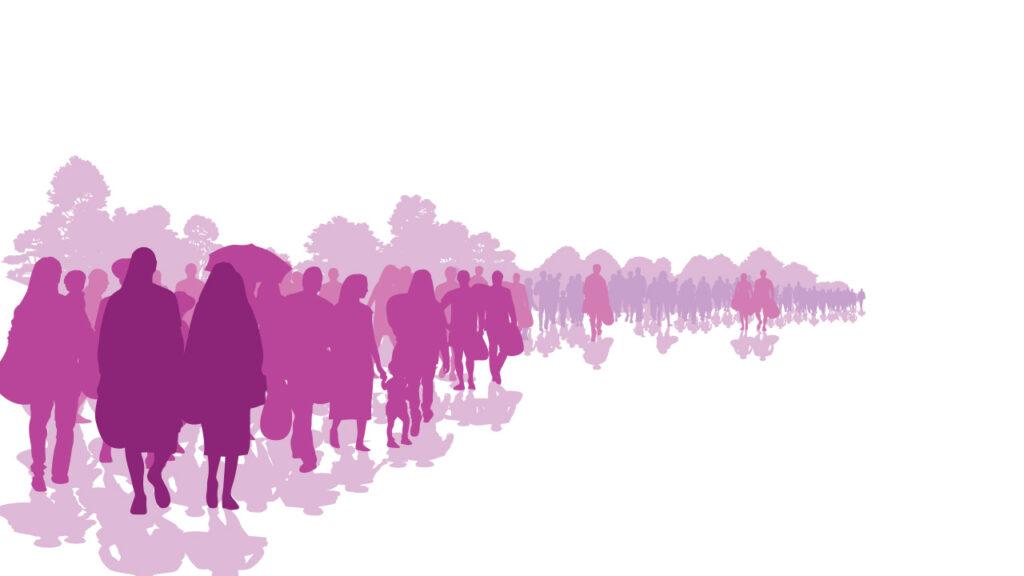 Människor på flykt eller i migration