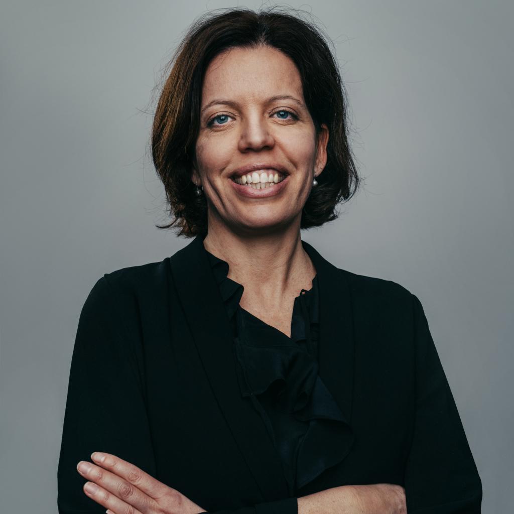 Petra Tötterman Andorff, ordförande för CONCORD Sverige