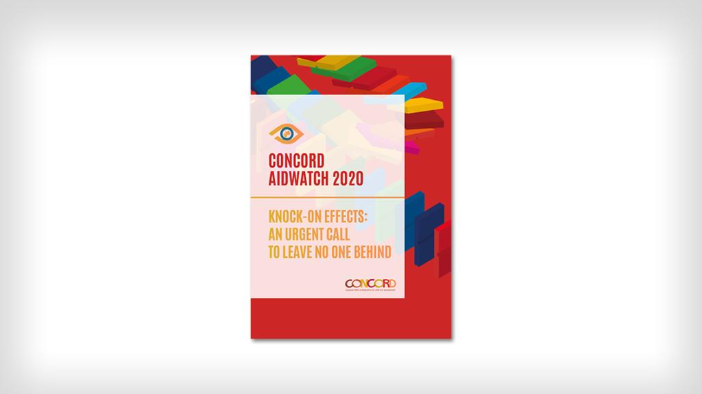 Framsidan av AidWatch-rapporten 2020