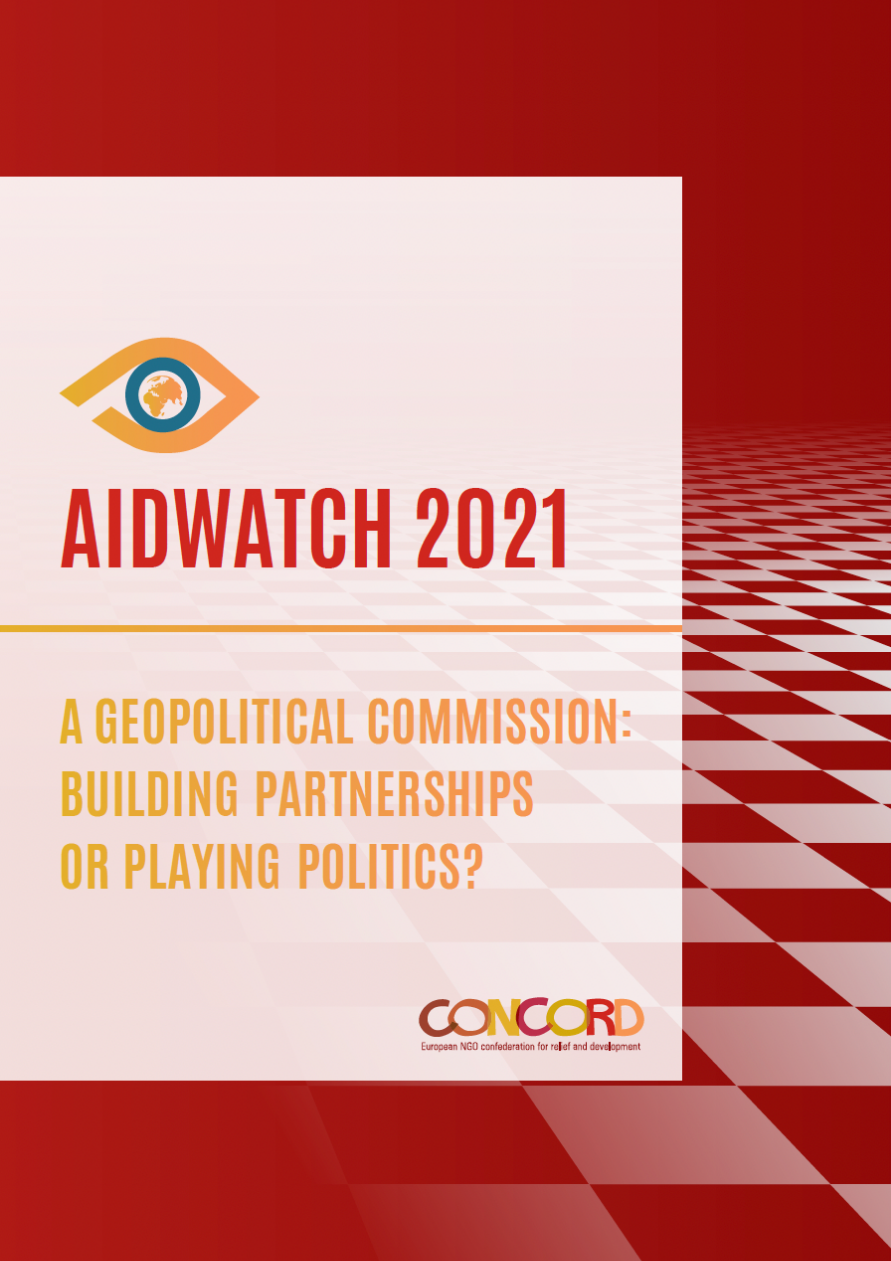 frontpage of AidWatch report